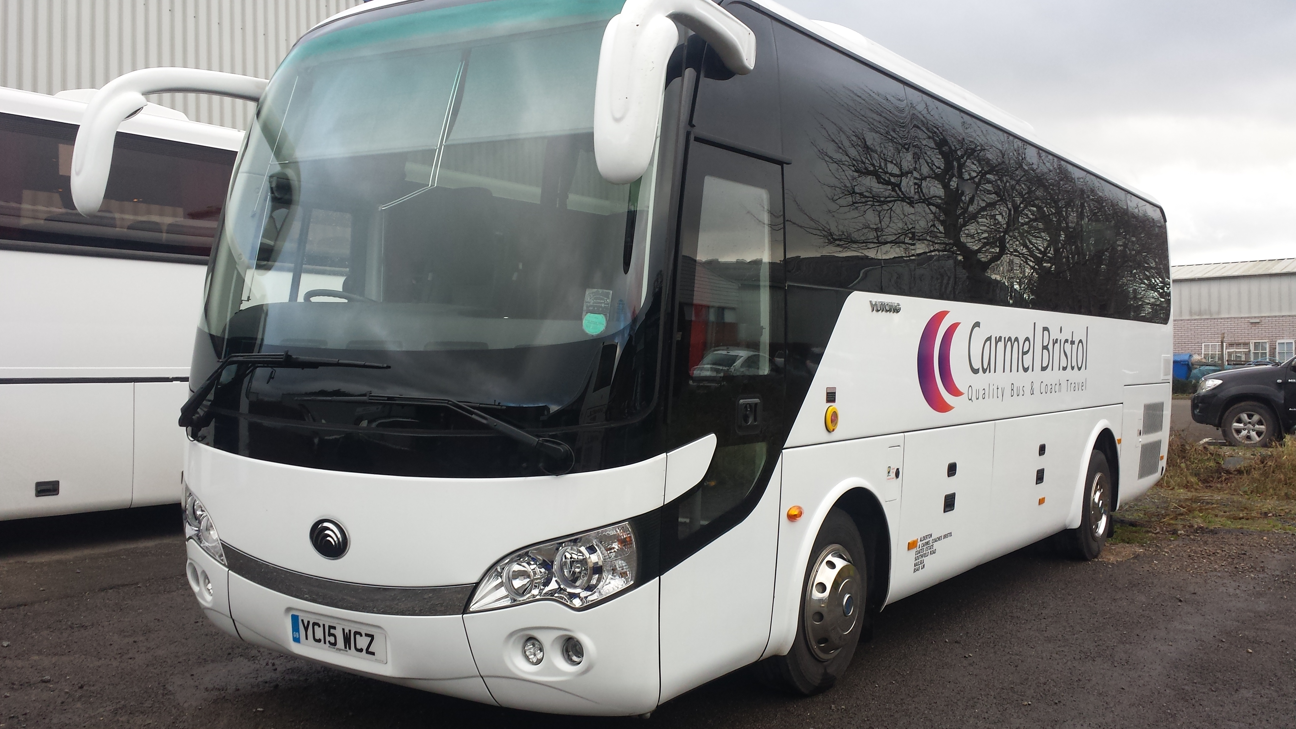 Carmel Coaches - One of the vehicles from our large fleet.