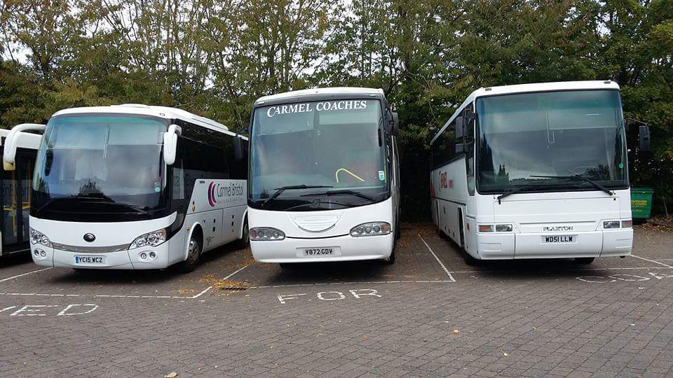 Carmel Coaches Social hire using a fleet
